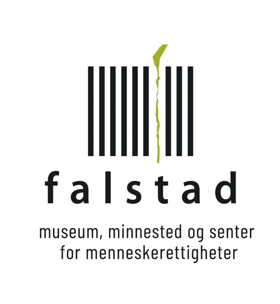 Falstad logo med undertekst