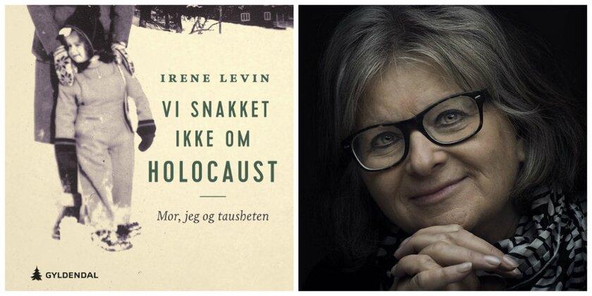 """""""Vi snakket ikke om Holocaust"""" av Irene Levin. Foto: NFFO og Gyldendal"""