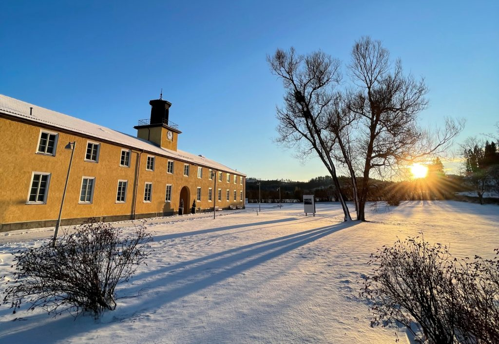 Falstadsenteret_vinter. Foto: Odd Ivar Berg